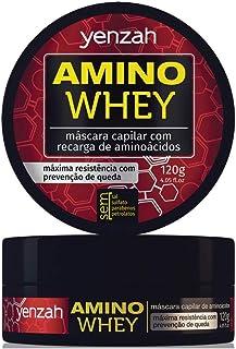 Máscara Amino Whey, Yenzah, Branco