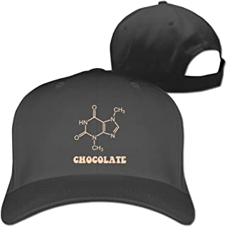 Beetful Chocolate Molecule Cap Hat,Adjustable Cap
