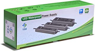 CATIYA 24V 100W LED Driver, IP67 Waterproof Constant Voltage Power Supply Transformer