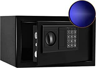 Sdstone Safe Box with Induction Light, Electronic Safe Box with Digital Keypad Lock for Money, Steel Structure Hidden Safe...