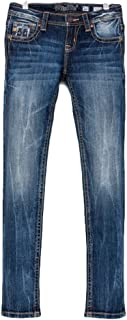 Denim Jeans Girls Rogue Skinny Jeans Med Wash JK7757S2