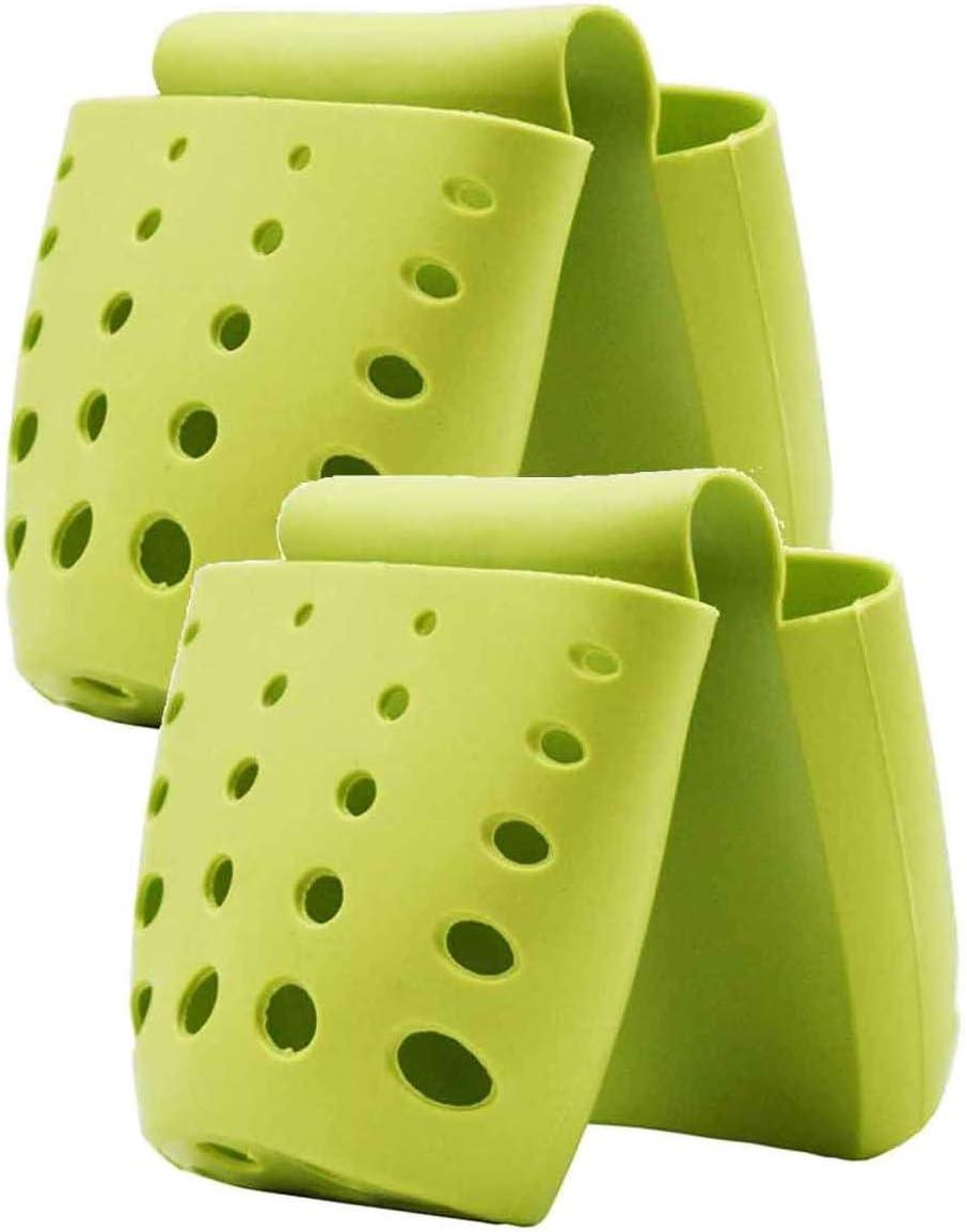 2 Pacakge Double Saddle Kitchen Sink Sponge Organiz Caddy Max 69% OFF Holder Ultra-Cheap Deals