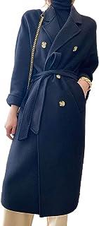Grneric Autunno Inverno 2020 Cappotto di Cashmere doppiogiochista da Donna Lungo e Largo Cappotto di Lana di Alta Fascia