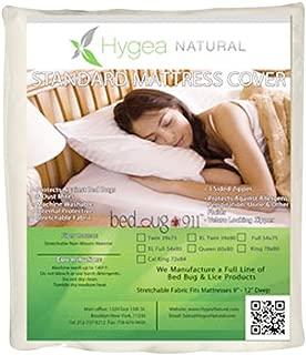 Hygea Natural Standard Bed Bug Mattress Cover - XL Full Size 54