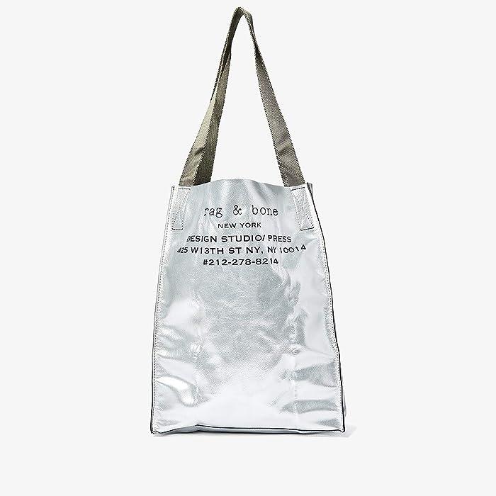 rag and bone  425 Packable Tote (Aluminum) Handbags