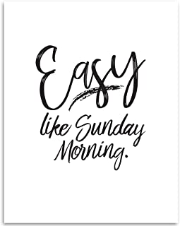 easy like sunday morning poster
