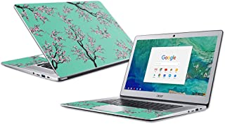 """MightySkins Skin Compatible with Acer Chromebook 15"""" (2018) - Cherry Blossom Tree 