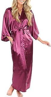ATEYC Kimono Accappatoio Damigella dOnore Robe con Il Bianco Nero Lettere Madre Sorella del Regalo di Nozze Sposa Accappatoio Kimono Raso Robes Accappatoio Color : Pink Bridesmaid, Size : 4XL
