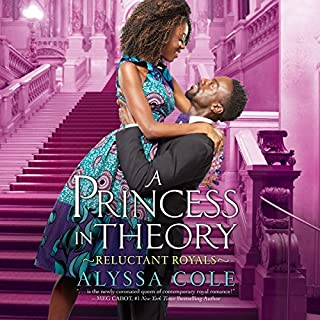 A Princess in Theory                   By:                                                                                                                                 Alyssa Cole                               Narrated by:                                                                                                                                 Karen Chilton                      Length: 11 hrs and 27 mins     178 ratings     Overall 4.6