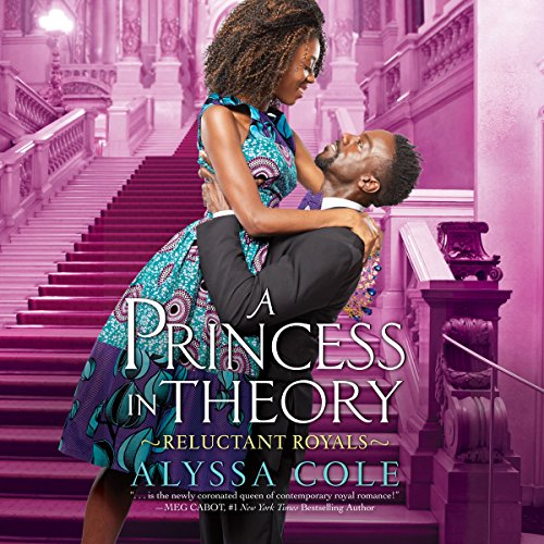 A Princess in Theory audiobook cover art
