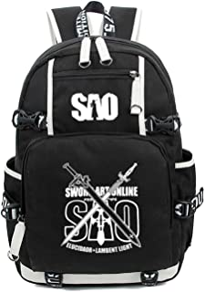 YOYOSHome Anime Cosplay Noctilucence Rucksack Messenger Bag Backpack School Bag