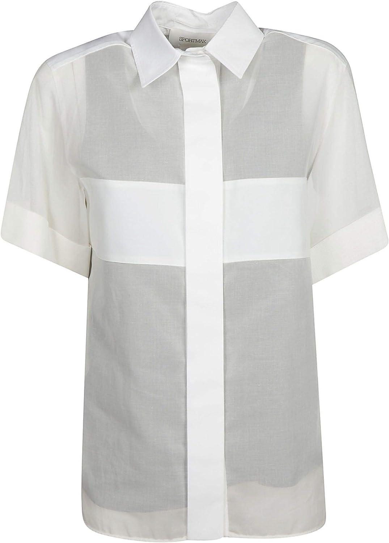 SPORTMAX Women's 22610191600001 Black Cotton TShirt