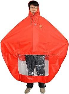 NAVADEAL Waterproof Rain Cape Mobility Scooter Cover Rainproof Coating Hooded Raincoat Rainwear Poncho, Great Rain Gear for Motorized Scooter, Power Wheelchair, Bike, Keep You Dry in Rainy Days