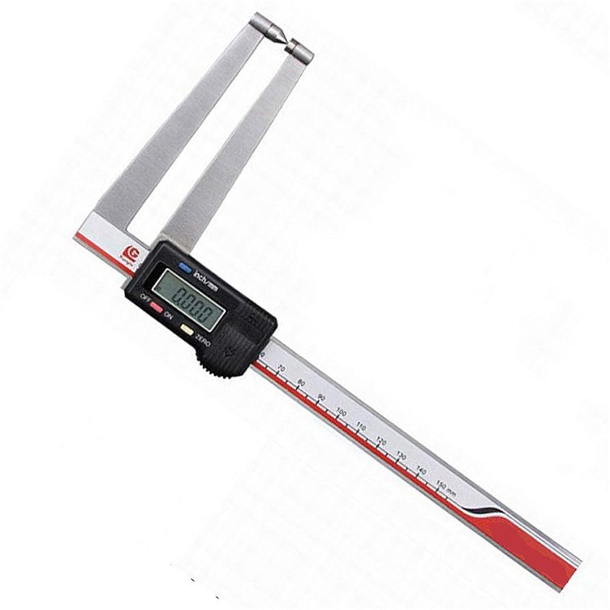 アシュリータファーマン教える共産主義者デジタル ノギス 6インチ/ 150mMのフラクショナルデジタルノギス(大型ディスプレイ)6インチ150のCeの測定ツール 高精度 コンパクトノギス (Color : Stainless steel, Size : 0-75mm)
