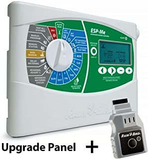 Rain-Bird ESP-ME Upgrade Panel WiFi Enabled Irrigation WiFi Zone Controller Timer Box and Link Lnk WiFi Mobile Wireless Smartphone Upgrade Module Sprinkler System