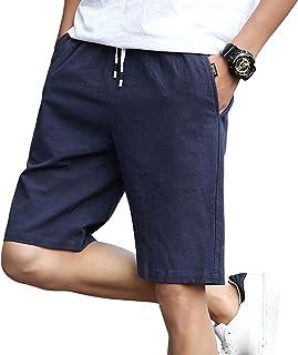 السراويل القطنية للرجال على غرار أزياء الرجال شورتات الشاطئ بالإضافة إلى السراويل القصيرة الحجم السراويل الرياضية للرجال M...