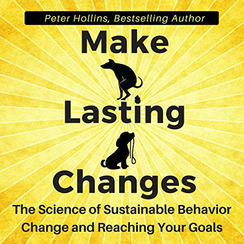 Make Lasting Changes Audiobook By Peter Hollins cover art