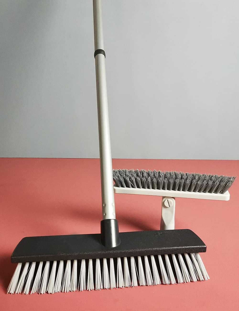 Deck Push Broom Heavy Duty Outdoor Commercial Max 81% OFF Stiff Indoor Brush Max 59% OFF