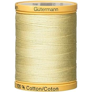Gutermann Natural Cotton Thread 800m//875 yd Taupe