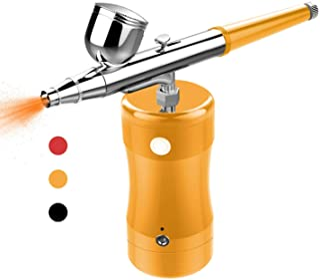 COSSCCI Upgraded Airbrush Kit, Portable Mini Air Brush Spray Gun with Compressor Kit..