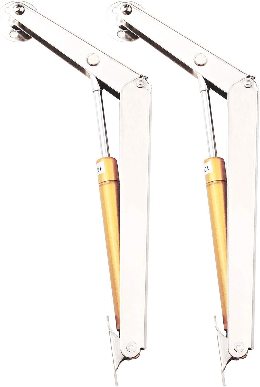 Window Cabinet Gas Strut Support Lift Down Heavy Lid Stay 100N//25lb 270mm