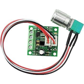 non-branded 1PC Motor Speed Controller 6V 12V 24V PWM DC Motor Speed Controller Switch 3A for Car
