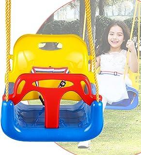3d0bbf607 Bunao 3 en 1 Columpio Infantil de Plástico para Exterior Asiento de Columpio  para Bebes con