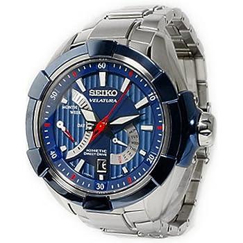 [セイコー]SEIKO キネティック ダイレクトドライブ 腕時計 SRH017P1 KINETIC ブルー メンズ オートクォーツ [並行輸入品]