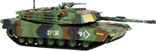 HANGHANG 1:72 U.S. Army M1A1 Abrams Battle Military Tank Heavy Armor Die Cast Military Land Vehicles Military Collection M...