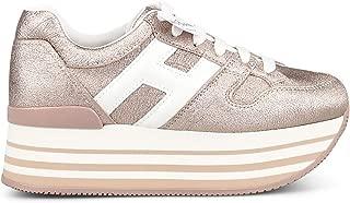 HOGAN Luxury Fashion Womens HXW2830T548LKM071F Pink Sneakers | Season Permanent