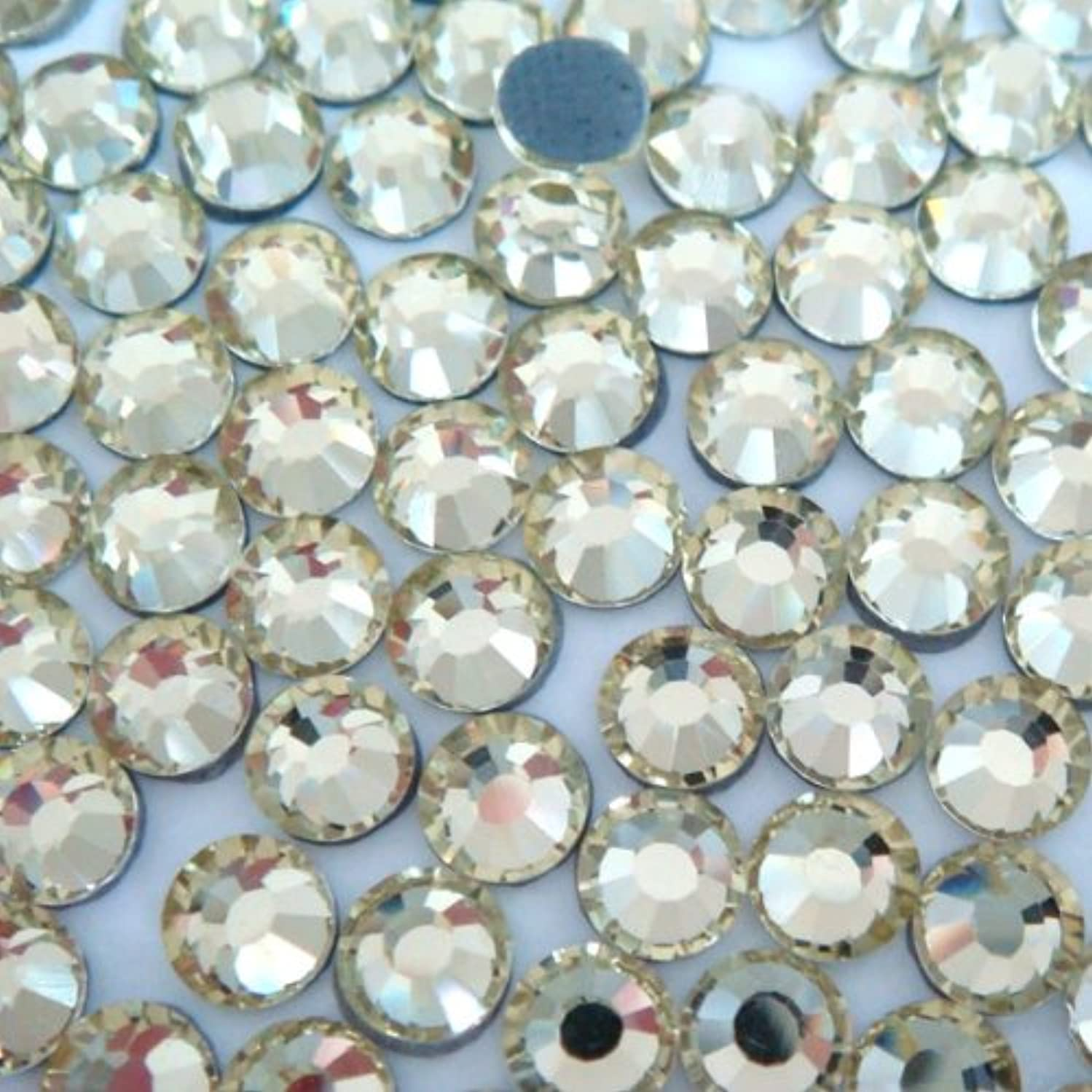 NEW ThreadNanny CZECH Quality 10gross (1440pcs) HotFix Rhinestones Crystals - 5mm/20ss, Crystal/Clear Color