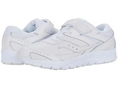 Saucony Kids S-Cohesion 13 A/C (Little Kid/Big Kid) (White) Kids Shoes