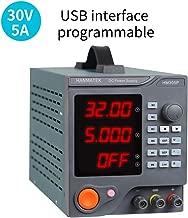 Hanmer HM305P Fuentes de Alimentacion Regulables de Conmutación Ajustable 30V / 5A Variable con Pantalla LED de 4 dígitos/6 Sets de Almacenamiento con software para PC e interfaz USB