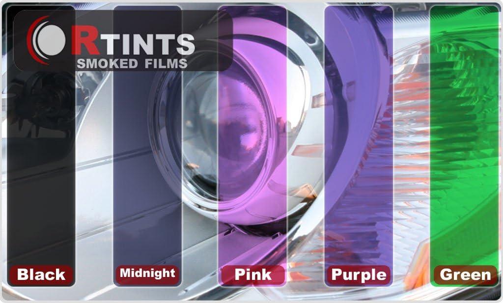 Application Kit Rvinyl Rtint Headlight Tint Covers for Kia Soul 2010-2011