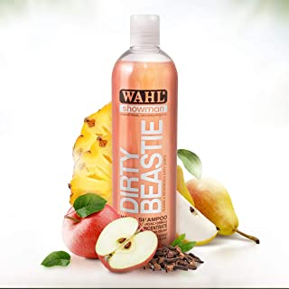 Wahl Dog Shampoo Dirty Beastie Showman Shampoo for Pets 500 ml Concentrate/7.5 Litre Diluted