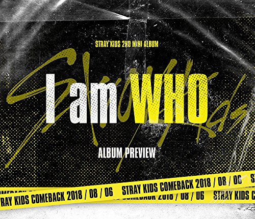 JYP Entertainment Stray Kids - I Am Who [Who Ver.] (2nd Mini Album) CD + Photobook + 3 QR Photocards + On Pack Poster + Folded Poster