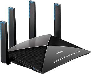 NETGEAR Nighthawk X10 – AD7200 802.11ac/ad Quad-Stream MU-MIMO WiFi Router with 1.7GHz Quad-core Processor & Plex Media Se...