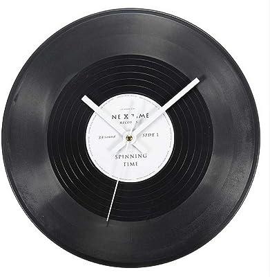 Balvi reloj de pared Greatest Hits! Imita un disco musical ...