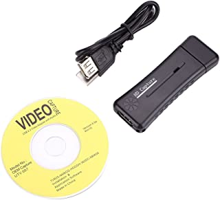 Haihuic Portable USB 2.0 Port HDMI 1080P 60fps Monitor Video Capture Card Adapter For PC