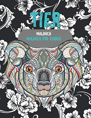 Malbuch - Malbuch für Kinder - Tier