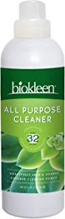 Biokleen All Purpose Cleaner - 32 Gallons - Super Concentrated, Eco-Friendly, Non-Toxic, Plant-Based, No Artificial Fragra...
