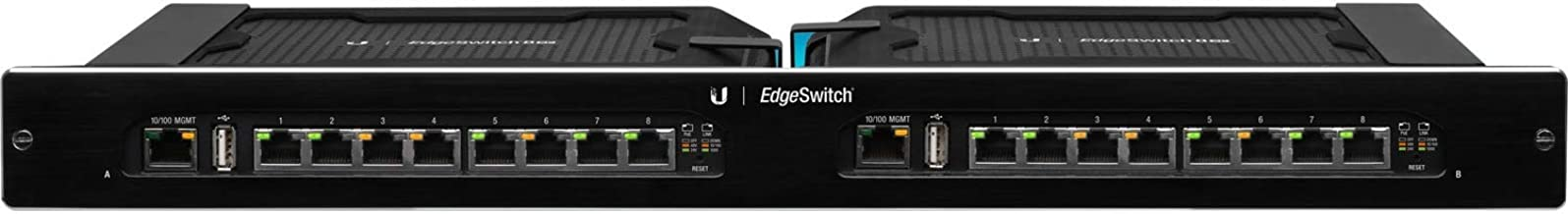 Ubiquiti Networks EdgeSwitch 16XP - Conmutador gestionado PoE de 16 puertos Gigabit (ES-16XP)