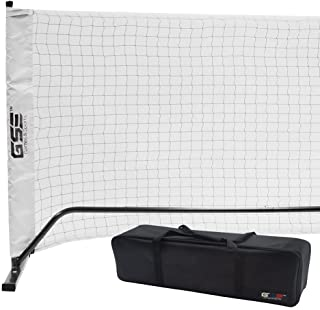 GSE Games & Sports Expert Professional Regulation Size Portable Pickleball Net System with Carrying Case
