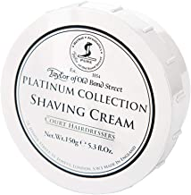 Taylor of Old Bond Street Platinum Collection Shaving Cream Bowl 150g