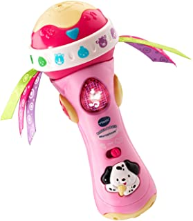 VTech Baby Babble and Rattle Microphone Amazon Exclusive, Pink