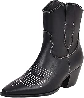 Zanpa Women Fashion Western Booties