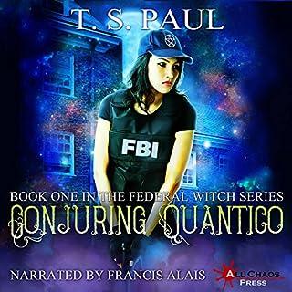 Conjuring Quantico audiobook cover art