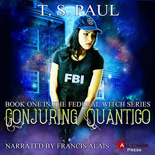 Conjuring Quantico audiobook cover art