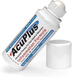 Sponsored Ad - AcuPlus Pain Relief Roll-on - Advanced Fast Acting, Long Lasting & Powerful Topical Pain Relief from Bursit...