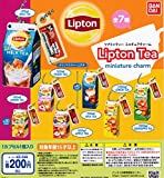 Lipton Tea リプトンティー ミニチュアチャーム [全7種セット(フルコンプ)] ガチャガチャ カプセルトイ